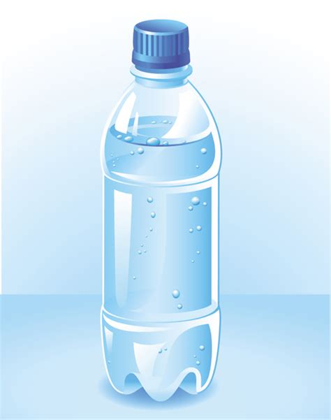 Vector Water Bottle Template Material 04 Vector Other Free Download Bottle Design Template