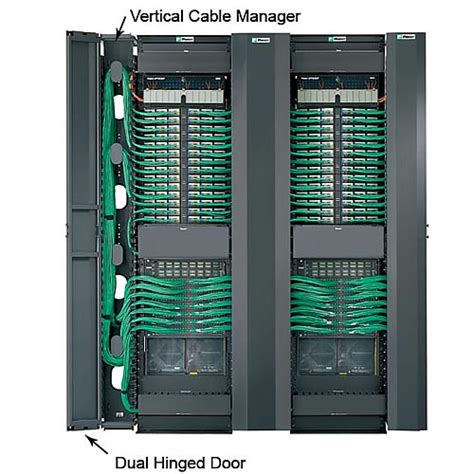 panduit patchrunner vertical cable managers