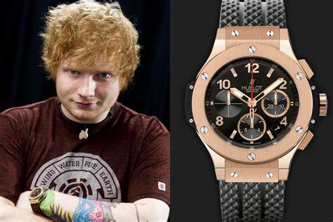 ed sheeran richard mille pregunta que reloj te comprarias por page 91