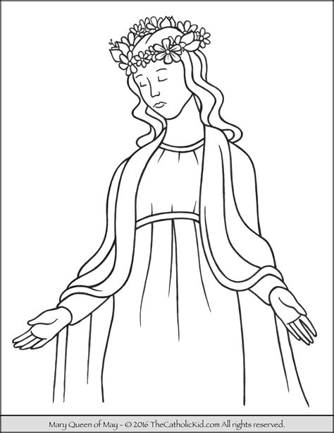 coloring pages may may crowning coloring pages coloring pages