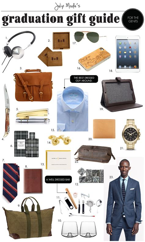 Gifts For The Guys by Julip Made Graduation Gift Guide For The Guys