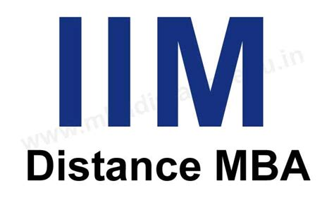 Distance Mba In It by Iim Distance Learning Mba Courses 2017 Iim Distance Mba