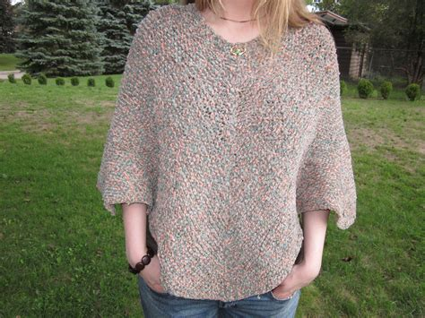 make your own knitting pattern make your own perseverance poncho vintage knitting