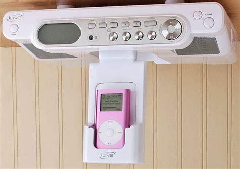 Bathroom Radio With Ipod Dock Ilive Cabinet Ipod System