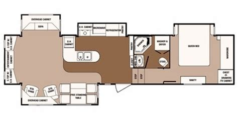 sunnybrook rv floor plans 2012 sunnybrook bristol bay 3510 re trailer photos