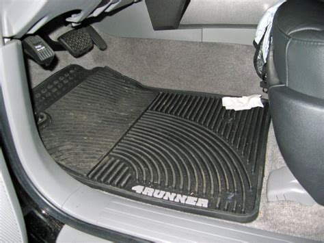 4runner All Weather Mats by Toyota All Weather Mats Toyota 4runner Forum Largest