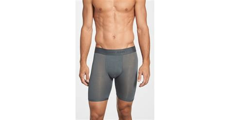 tommy john menswear review tommy john second skin boxer briefs in gray for men