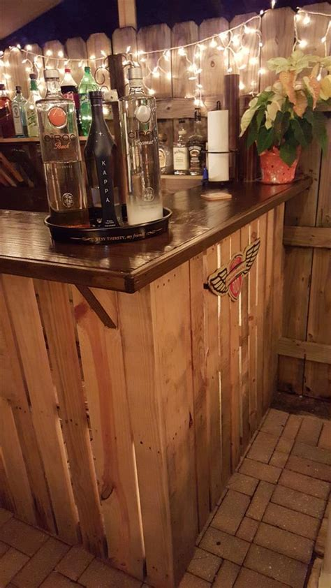 pallet wood bar pallet furniture plans