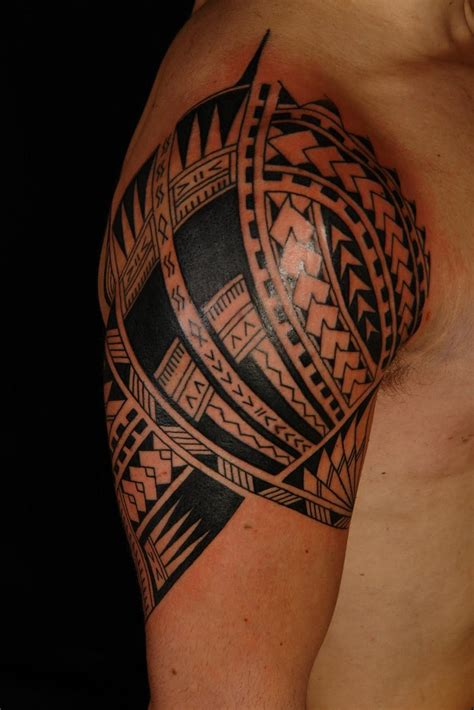hawaiian quarter sleeve tattoo polynesian tattoo designs meanings tattoo design ideas