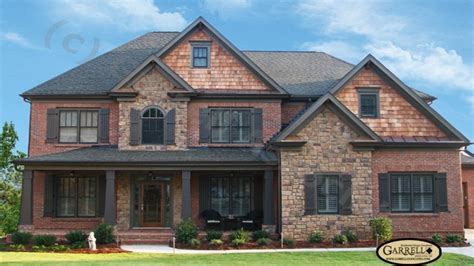 stone homes plans house plans with brick and stone exterior brick house