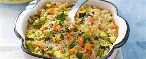 cucinare il riso integrale riso integrale strapazzato al forno con le verdure sale pepe
