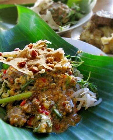 indonesian original recipes vegetables  peanut sauce