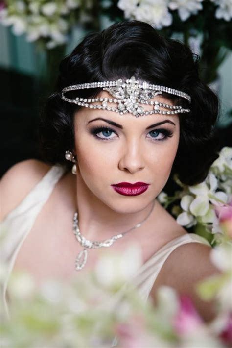 simple makeover for great gatsby great gatsby bridal look inspiration weddbook