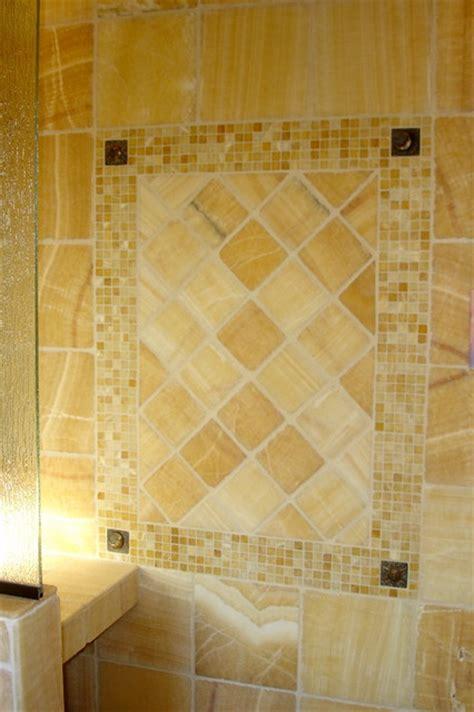 onyx bathroom designs master bathroom onyx tiled shower
