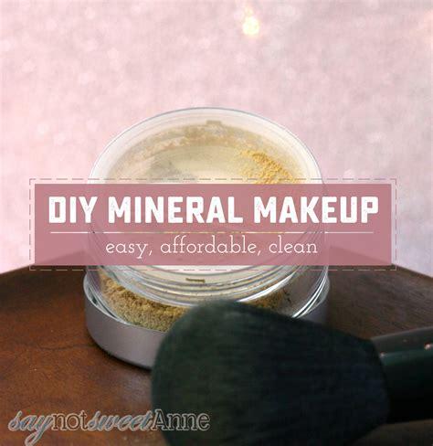 Handmade Mineral Makeup - diy mineral makeup style guru fashion glitz
