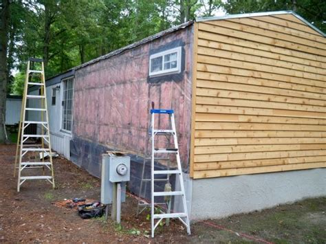 best 25 mobile home siding ideas on