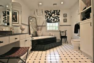 Decorating Black And White Bathroom 20 Black And White Bathroom Designs Decorating Ideas