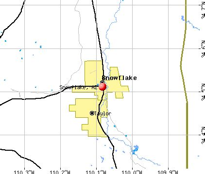snowflake arizona az 85937 profile population maps