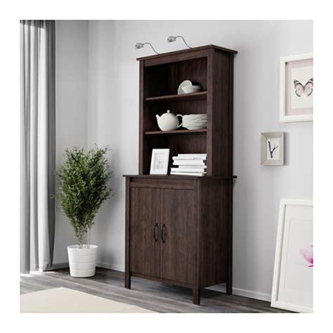 ikea brusali cabinet brusali high cabinet with door brown 80x190 cm ikea