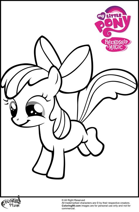 mlp apple bloom coloring pages team colors