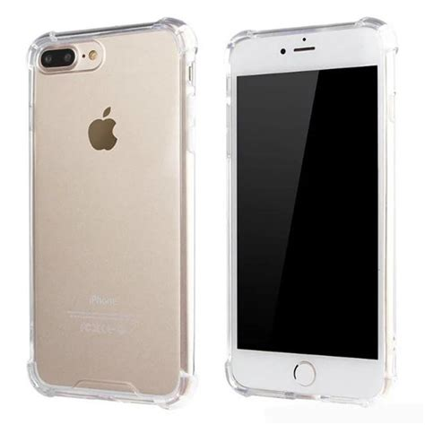 for apple iphone 7 plus 5 5 inch silicone clear cover bumper protective tpu ebay