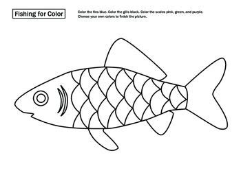 fish diagram coloring page fish anatomy fish anatomy worksheets and learning