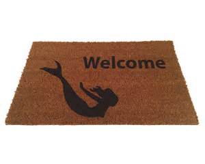 mermaid welcome door mat a door mat for every door