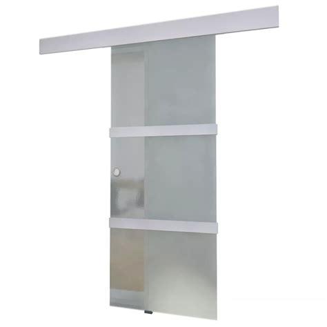 quanto costa una porta scorrevole in vetro glass sliding door vidaxl co uk