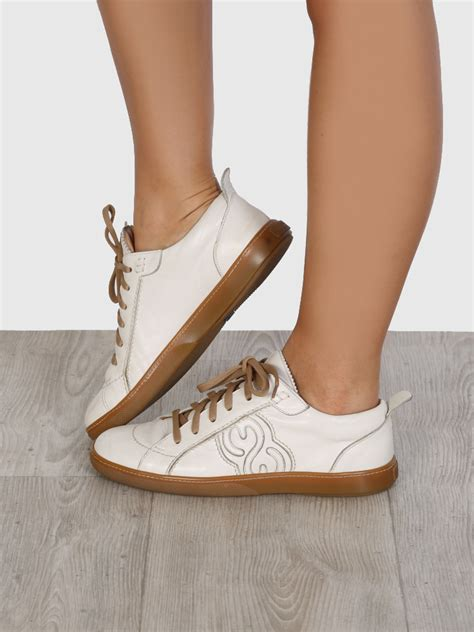 escada sport shoes escada sport leather logo sneakers 37 luxury bags