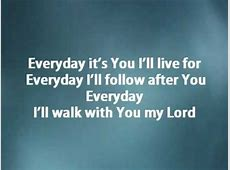 Everyday - Hillsong w/ lyrics - YouTube Joel Lyrics