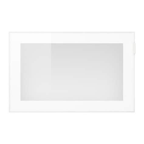 glassvik porte vitr 233 e blanc verre givr 233 ikea