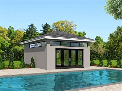 House Plans With A Pool by Pool House Plans House Plans Plus