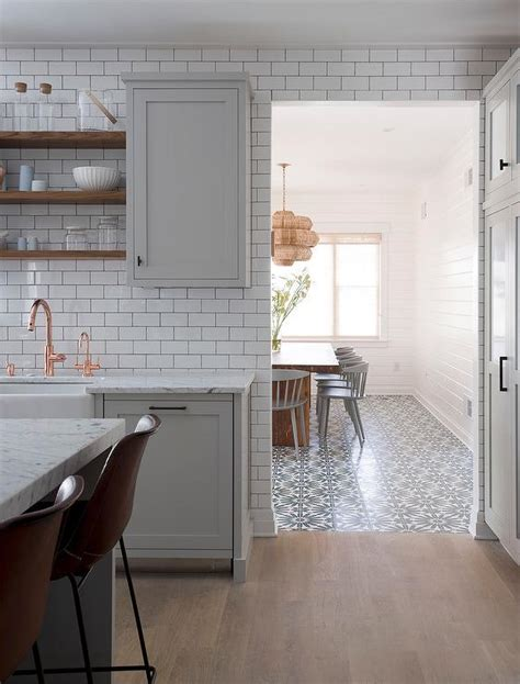grey kitchen cabinets wood floor light gray kitchen accented with gray wash wood floors