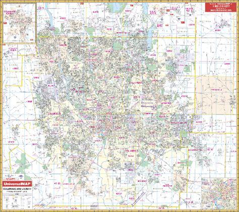columbus ohio map columbus ohio wall map