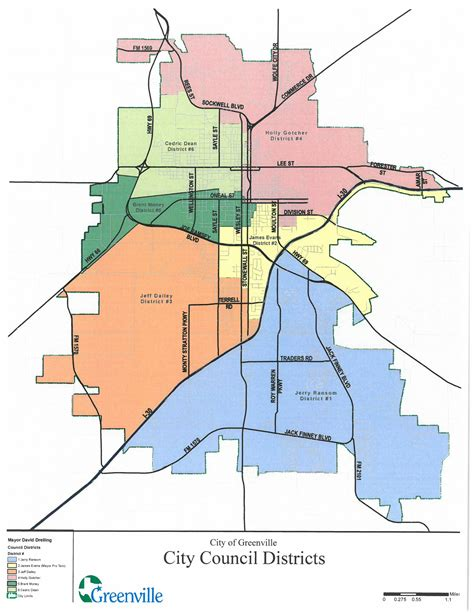 map of greenville texas redistricting greenville tx official website