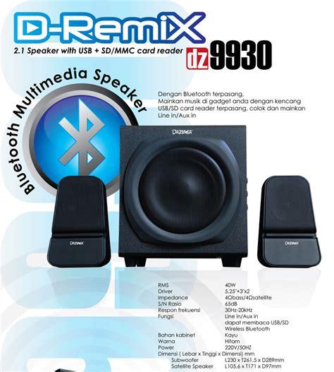 Speaker Dazumba D Remix Dz 7700 speaker dazumba d remix dz 9930