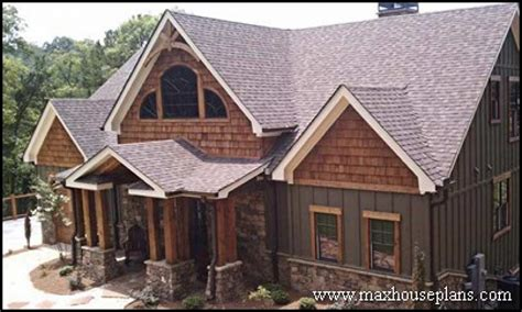 Best Lake House Plans by Craftsman Style Lake Home Plans Best Lake Homes Custom