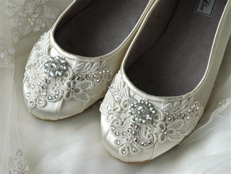 vintage flat wedding shoes womens wedding shoes lace wedding ballet flats accessories