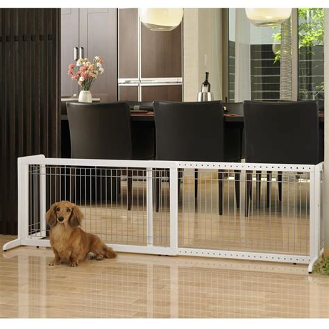 gates for dogs richell wood freestanding pet gate large autumn matte finish indoor