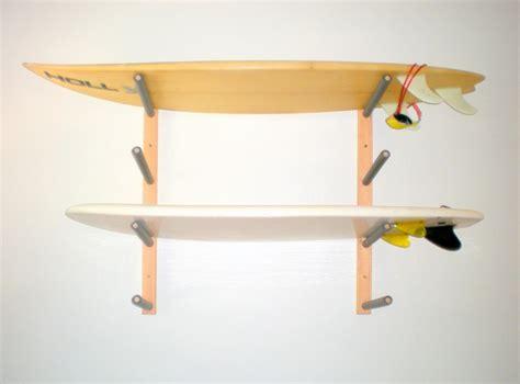 Wall Mounted Surfboard Rack by Surfboard Wall Rack Mount Holds 4 Boards By Proboardracks