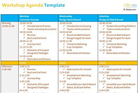 workshop agenda template dotxes