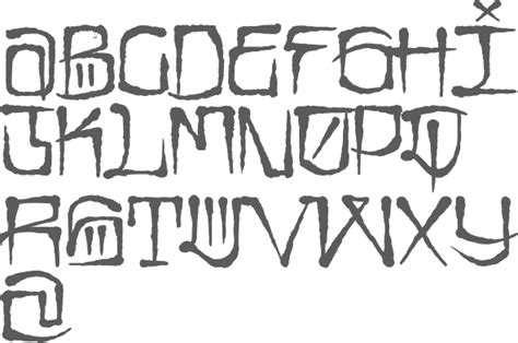 tattoo fonts gangster style myfonts gangster fonts