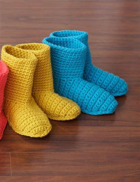 crochet boot slippers free patterns 25 best ideas about crochet slipper boots on