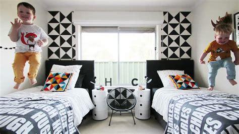 black room boy design trend alert black white in boys room decor