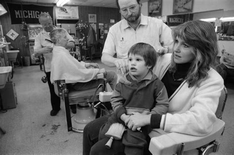 childrens haircuts ann arbor mi first haircut at dascola barbers may 1981 ann arbor