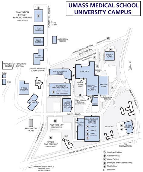 Umass Floor Plans | cus map umass medical school
