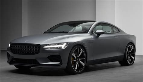 2019 Volvo Polestar 1 by 2019 Polestar 1 Makes Geneva Debut In Matte Grey