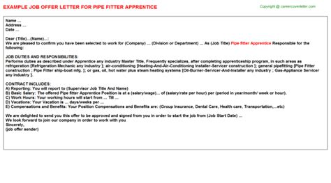 Pipefitter Apprentice Cover Letter by Pipefitter Apprenticeship Cover Letter Reportd24 Web Fc2