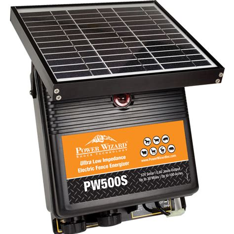 electric fence solar charger solar panel fence chargers 187 fencing