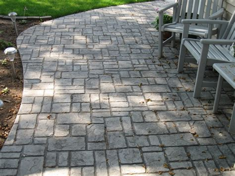 Cobble Patio by Verona Cobblestone Sted Patio Mcfarland Yelp